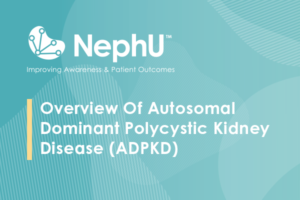 Overview Of Autosomal Dominant Polycystic Kidney Disease (ADPKD)