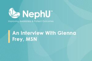 An Interview With Glenna Frey, MSN