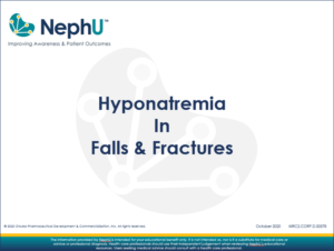 Downloadable Resource – Hyponatremia In Falls & Fractures