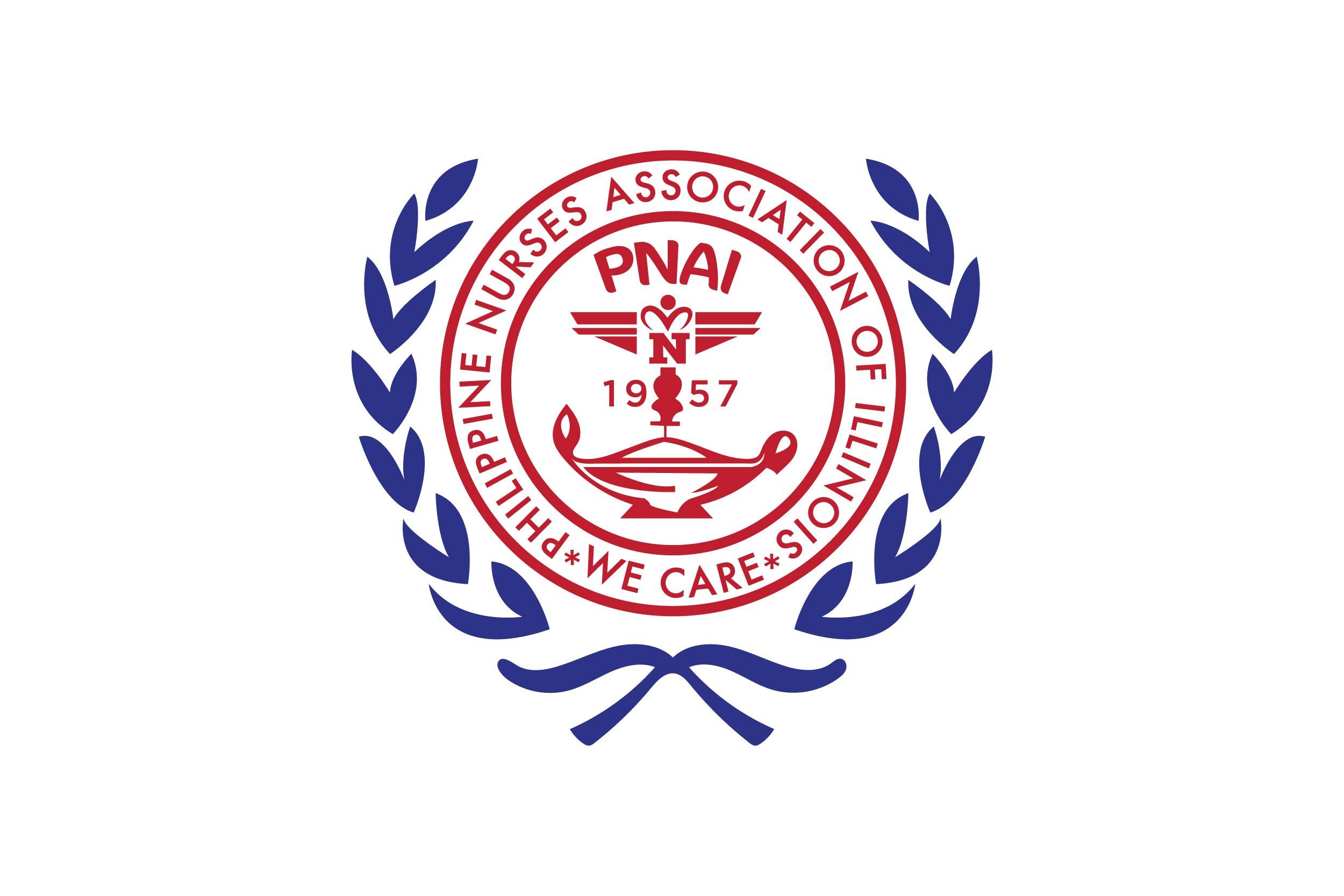 The Philippine Nurses Association of Illinois (PNAI) logo
