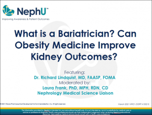 What Is A Bariatrician & Can Obesity Medicine Improve Kidney Outcomes?